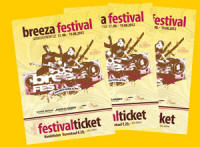Breeza Festival Ticket 2012